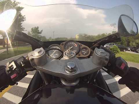 Yamaha FZR 600 gopro