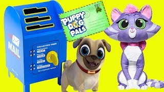 Puppy Dog Pals Mailbox with Hissy, Rolly and Bingo on Disney Junior