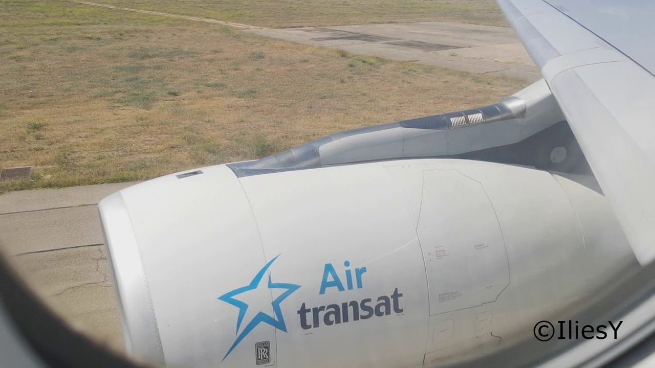 full trip report air transat a330 200 marseille montreal economy option youtube. Black Bedroom Furniture Sets. Home Design Ideas