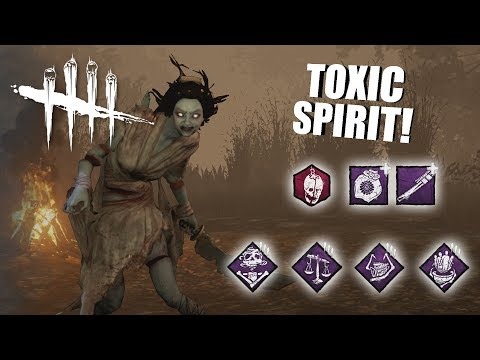 Playing As The Spirit BUT I'm SUPER TOXIC | Dead By Daylight