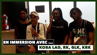 En immersion 50k-GAME OVER avec Koba LaD, Rk, Glk, Krk à Lyon et Genève 😂😂🎥