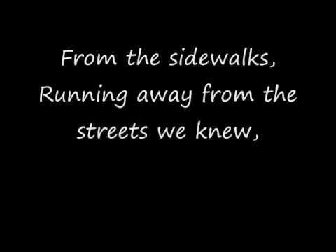 Story Of The Year  Sidewalks (Lyrics)