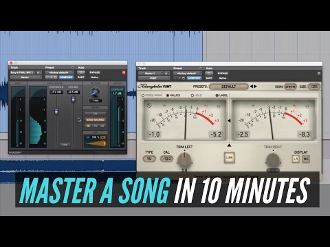 How To Master A Song In 10 Minutes  RecordingRevolutioncom