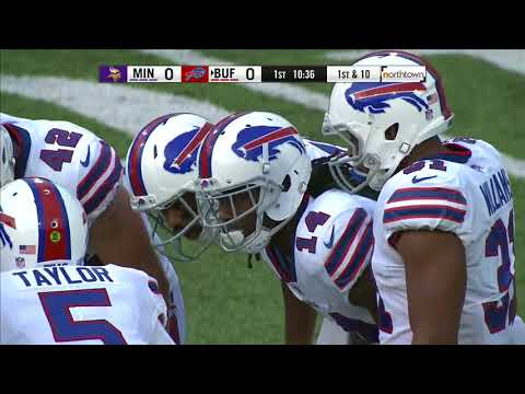 Minnesota Vikings @ Buffalo Bills Week 1 Preseason 2017