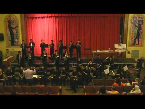 2012 Roy W Brown Middle School Jazz Band - Vehicle (Cover)