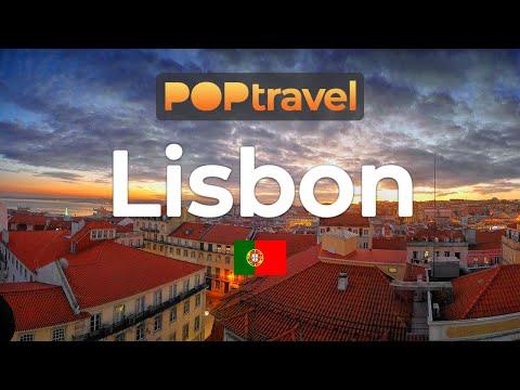 Walking In LISBON / Portugal 🇵🇹- 4K 60fps (UHD)