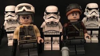 Kid Creates Lego Star Wars: Rebel Base Attack Movie