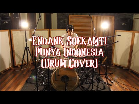 Endank Soekamti - Punya Indonesia (Drum Cover by Inderajaya) #SOEKAMTIKARAOKE