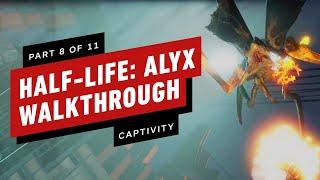 Half-Life: Alyx Walkthrough - Chapter 8: Captivity (Part 8 of 11)