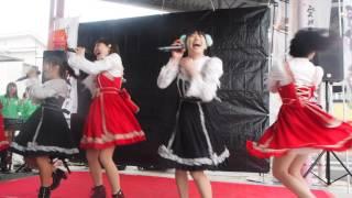 愛の葉Girls「オレンジモンスター」~スーパーABC石井店 地産地消フェア~ thumbnail