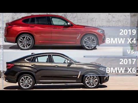 2019 BMW X4 Vs 2017 BMW X6 Technical Comparison