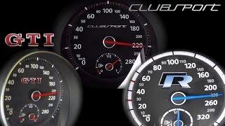 Alpha-N VW Golf 6 R 2014 Videos