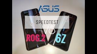 Asus ROG Phone 2 Vs Asus 6Z Speed Test (855+ VS 855)😱😱😱 (Brother Battle)
