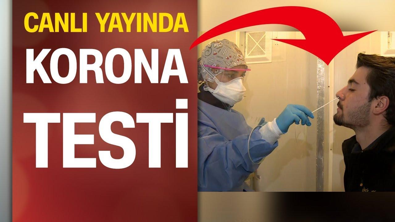 Türkiye'de koronavirüs testi işte böyle yapılıyor (uygulamalı anlatım)