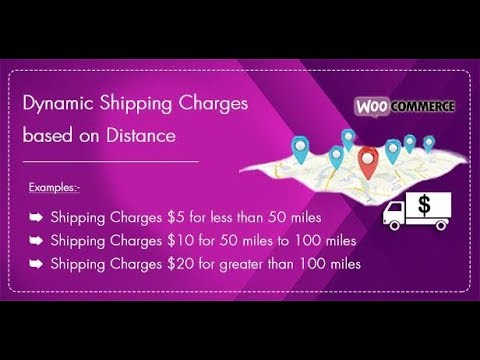Dynamic Shipping Charges Based on Distance