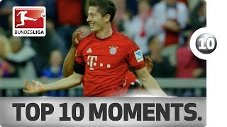 Top 10 Moments - FC Bayern's Road to the 2016 Title