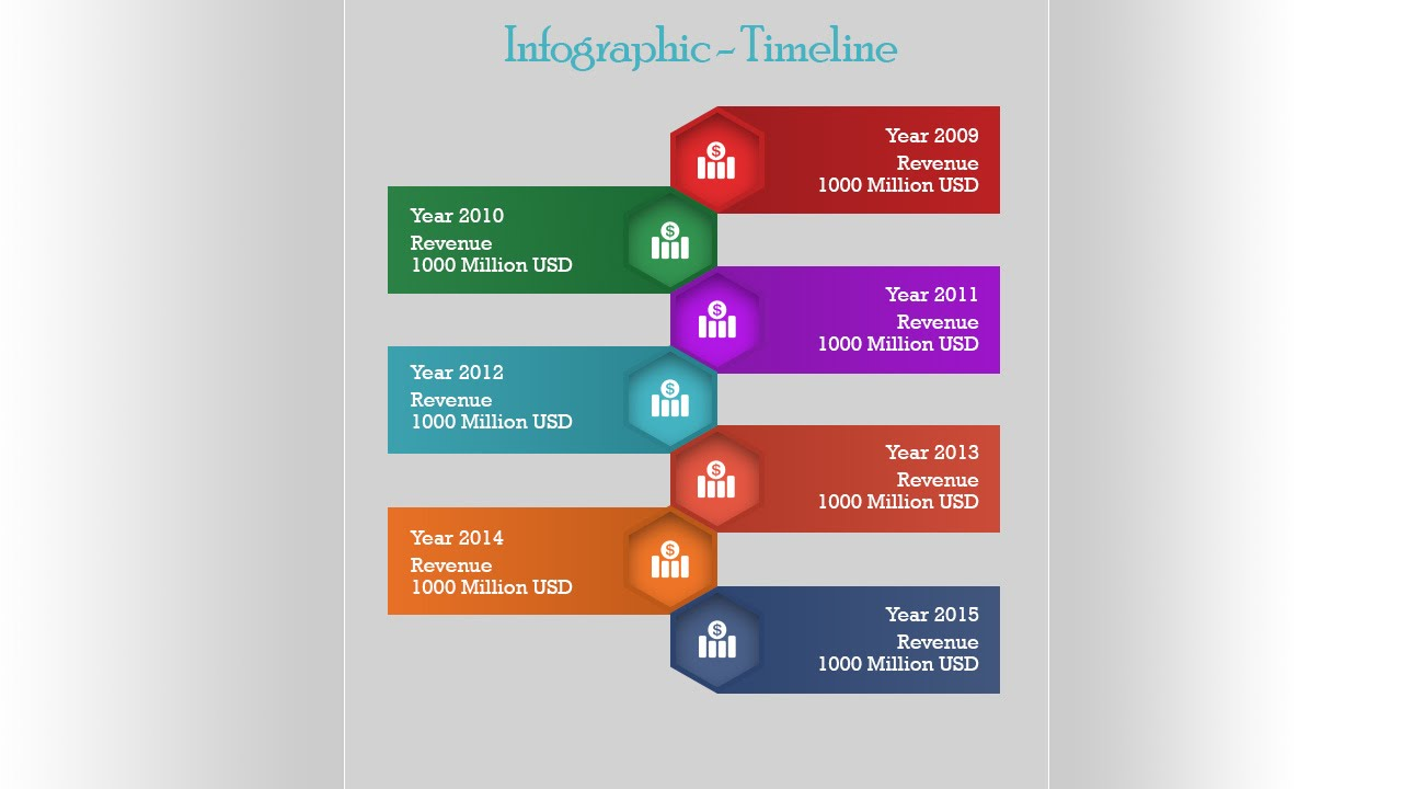 InfoGraphic Tutorial in Photoshop #01 - Timeline ...