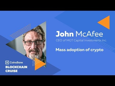 John McAfee Keynote: Mass adoption of crypto - Coinsbank Blockchain Cruise