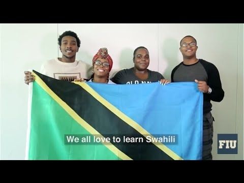 Learn Swahili with FIU students