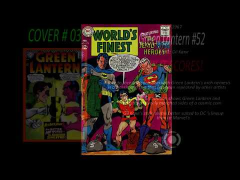 My Top 10 Silver Age DC Comic Book Covers