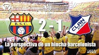 Barcelona S.C 2 vs Clan Juvenil 1 fecha 18 segunda etapa CBP2017
