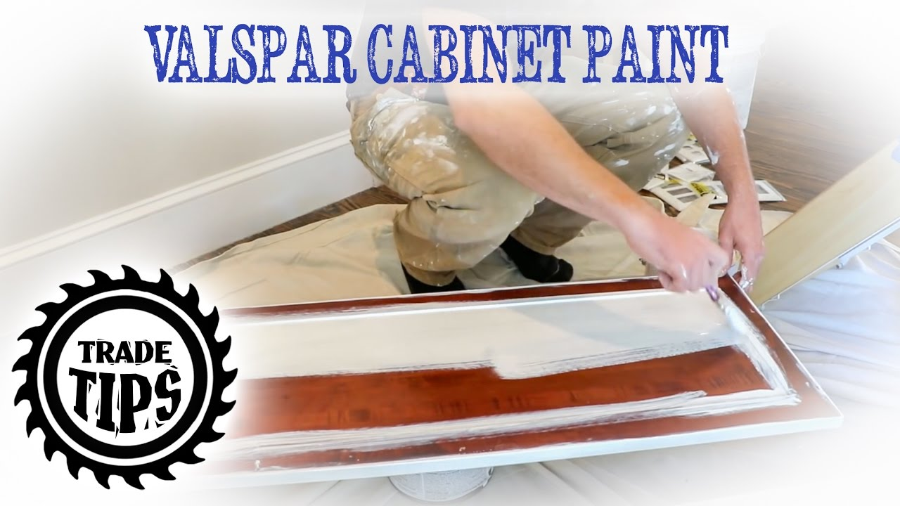 Valspar cabinet enamel painting cabinets without brush marks trade tips also rh youtube