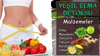 Yeşil Elma Detoksu 6 Günde 6 Kilo | Yeşimin Yeşil Elma Detoksu