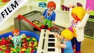 Playmobil Film deutsch   NEUES SPIELZIMMER IN LUXUSVILLA - Wo ist Mamas Fernseher hin? Familie Vogel