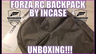 Forza RC Backpack By Incase Unboxing!!!