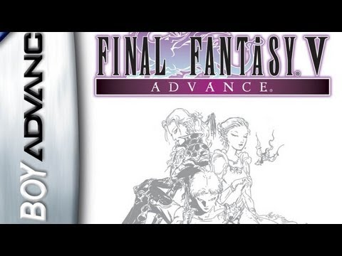 CGR Undertow - FINAL FANTASY V ADVANCE review for Game Boy Advance