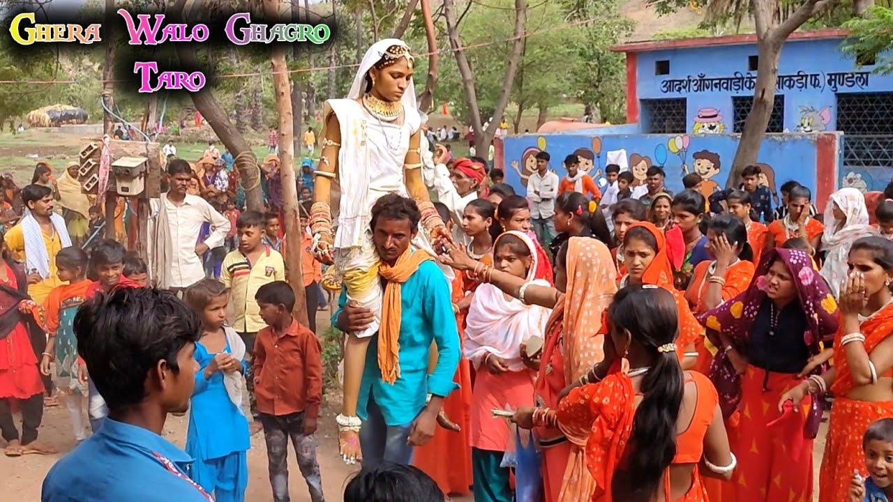ghera walo ghagro taro    घेरा वालों घागरो तारो सतरंगी साड़ी वो    sukhram Solanki   
