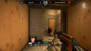 CS:GO - eUnited vs. Ghost | Cloud9 vs. Infinity - ESL Pro League Season 9 - Americas Round 2