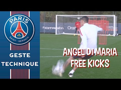 ANGEL DI MARIA : Bull's eye X4 - FREE KICKS
