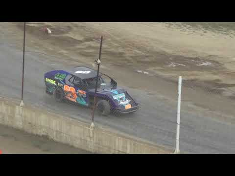 I.M.C.A. B-Feature #2 at Crystal Motor Speedway, Michigan on 09-17-2017!!