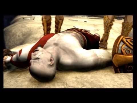 God Of War: Chains of Olympus ending.