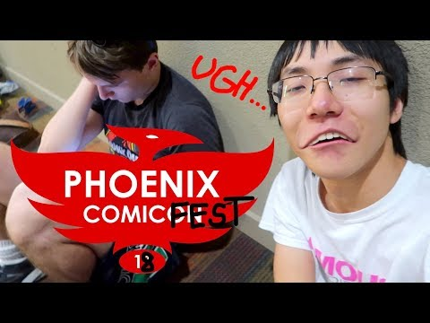 PHOENIX COMIC FEST 2018 (Boring)