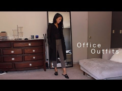 Officewear Essentials: What I Wear To Work! Aritzia, Uniqlo, Zara, Nordstrom