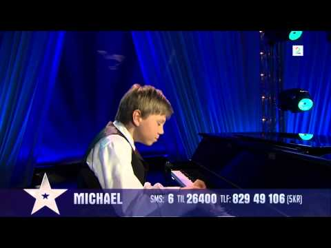 Michael Haug playing U.N. Owen Was Her? in Norweigan Talent Show