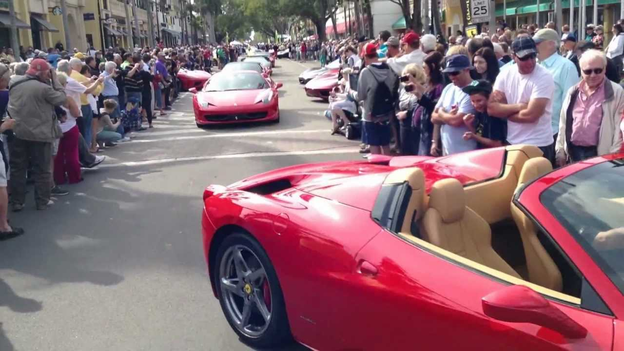 Naples Car Show >> Img 0772 Mov Cars Show On 5th Ferrari Club Of Naples Amg 9 Youtube