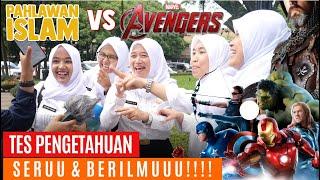 Tes Pengetahuan Pahlawan Islam vs Avengers - Social Experiment