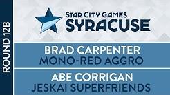 SCGNY: Round 12B - Brad Carpenter vs Abe Corrigan [Standard]