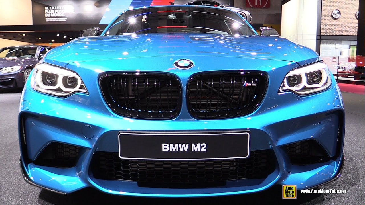 2017 bmw m2 m performance accessorized exterior and. Black Bedroom Furniture Sets. Home Design Ideas