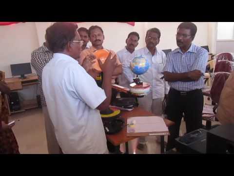Scientific Moving Globe Demontration at JNV