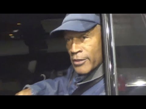O.J. Simpson to Photographer At Gas Station: