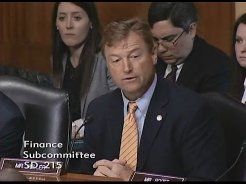 Heller Discusses Burdensome Medical Device Tax at Senate Finance Hearing