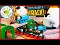 BUBS DOES A SOLO THOMAS TRACK! Fun Toy Trains for Kids! Thomas and Friends and BRIO!