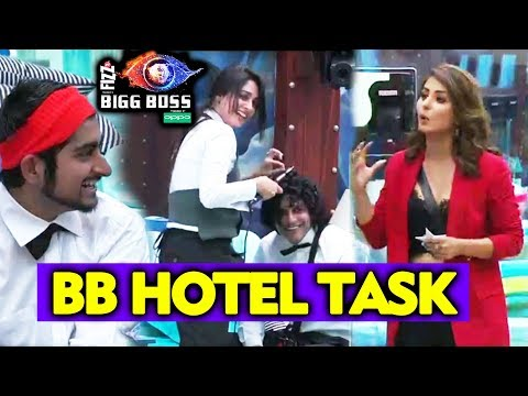 BB Hotel Task | Hina Khan Guest Entry | Bigg Boss 12 Latest Entry