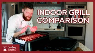 Best Indoor Grills Review - Philips Smokeless Grill VS Delonghi Indoor Grill