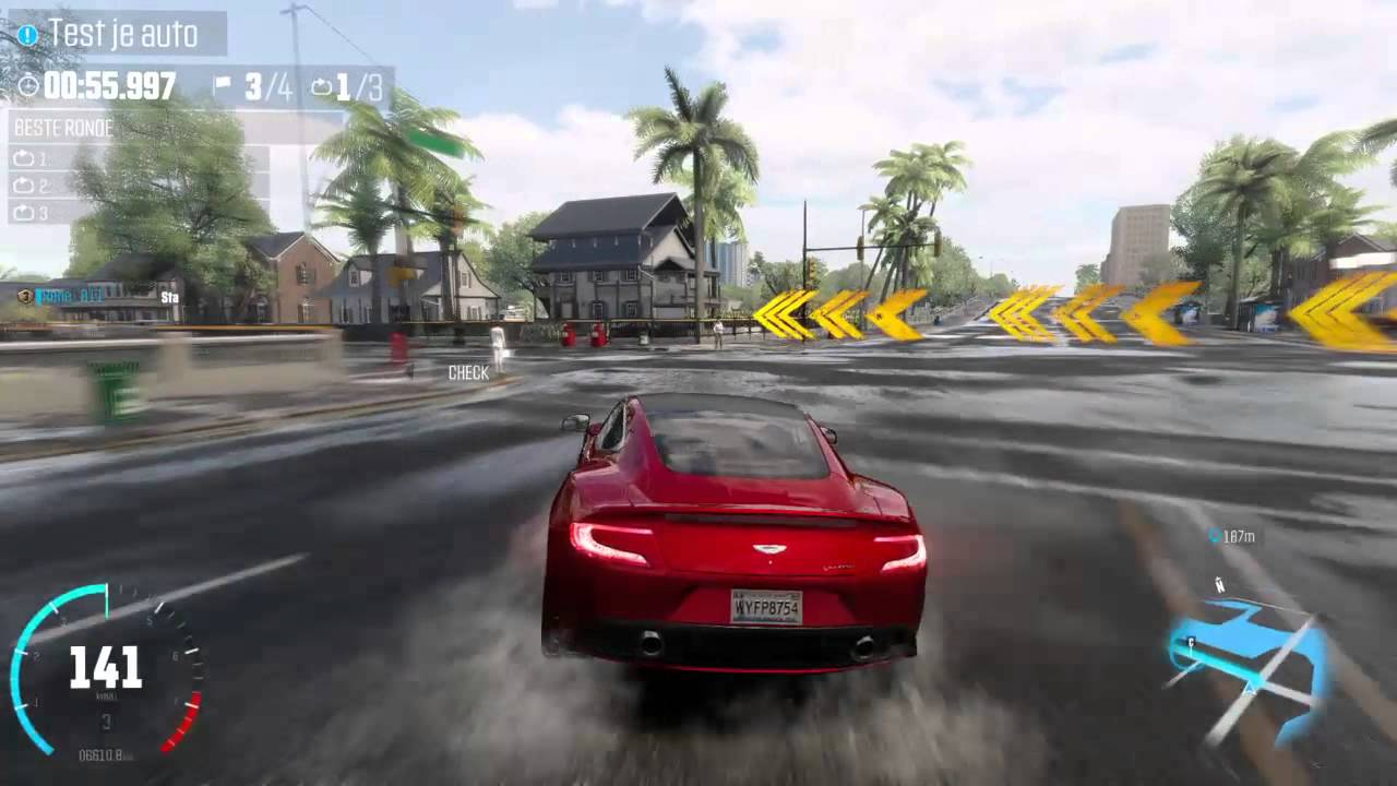 The Crew Aston Martin VANQUISH Gameplay - YouTube