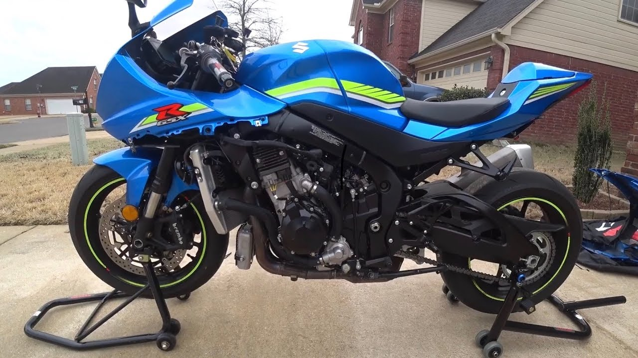 2017 gsxr 1000 service light reset by hgallegos915